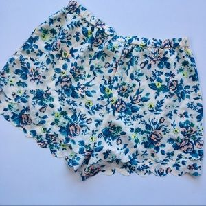 ANTHROPOLOGIE E by Eloise floral shorts